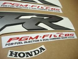 Honda 800i 2000 Interceptor yellow full decals kit