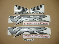 Honda VFR 800i 2000 yellow adhesives set