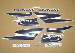 Honda CB 500S 1998 yellow stickers