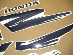 Honda CB 500S 1998 yellow logo graphics