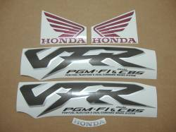 Honda 800i 1998 red stickers set