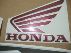 Honda VFR 800i 1998 RC46 red decals kit