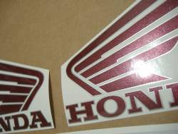 Honda 800i 1998 red logo graphics