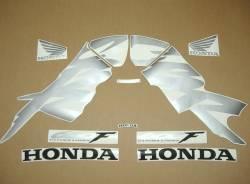 Honda CBR 600 F4 2000 yellow stickers kit