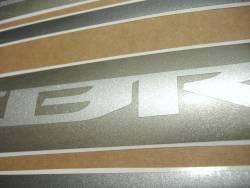 Honda CBR 600F 2011 black stickers