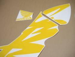 Honda 600 F4 1999 black stickers set
