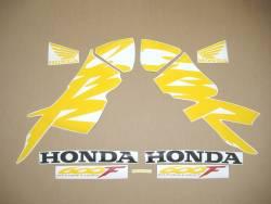 Honda 600F F4 1999 black logo graphics