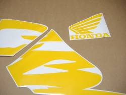 Honda CBR 600F F4 1999 black stickers