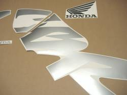 Honda CBR 600F F4 2000 yellow adhesives set