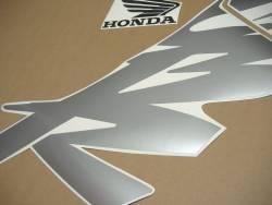 Honda 600F F4 2000 yellow logo graphics