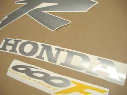 Honda CBR 600F F4 2000 yellow decals
