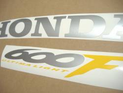 Honda 600 F4 2000 complete sticker kit