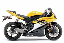 Yamaha R6 2006 2CO Anniversary Full Decals Kit