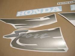 Honda CB500S 1999 black stickers kit