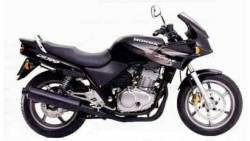 Honda CB500S 1999 black reproduction decals