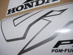 Honda VFR 800i 1998 RC46 silver stickers