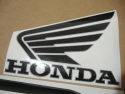 Honda 800i 1998 silver logo graphics