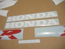 Honda NSR 125 1999 blue adhesives set