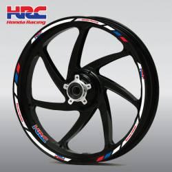 Honda cbr nsr vfr vtr 125r 250r wheel rim stripes lines set