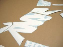 Honda NSR 125 2000 white stickers kit