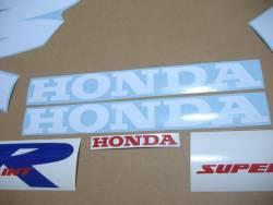 Honda NSR 125R 2000 white stickers