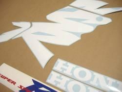 Honda NSR 125 2000 white labels graphics
