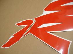 Honda NSR 125 2000 black labels graphics