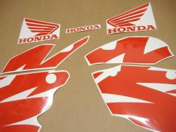 Honda 125R 2000 black complete sticker kit