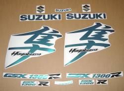 Suzuki Hayabusa chameleon 2010 2011 stickers kit