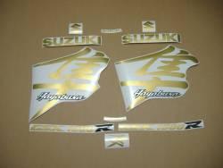 Suzuki Hayabusa 1999 2000 2001 pearl gold stickers set