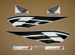 Honda CB400 super four 2005 silver decals
