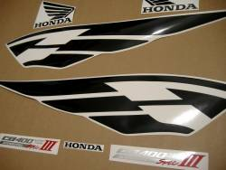 Honda CB400 2005 silver restoration decals