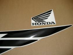 Honda super four 4 2005 silver logo decals set
