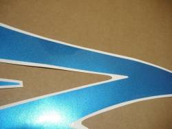 Honda cbr 600rr 2007 blue reproduction stickers