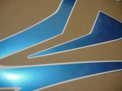 Honda CBR 600RR 2008 blue decals set