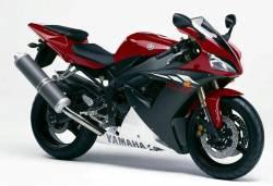 Yamaha YZF-R1 2003 5pw red logo graphics