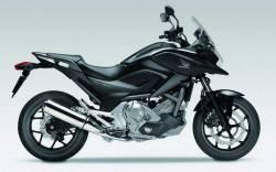 Honda nc700x 2012 black reproduction stickers