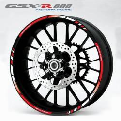 Suzuki gsxr 600 2005 k5 2008 k8 2009 k9 wheel rim stripes