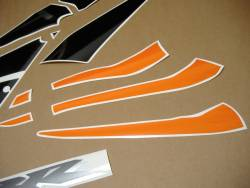 Honda cbr 600rr 2006 orange stickers set