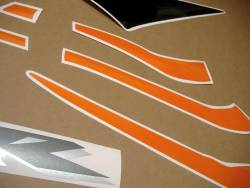 Honda cbr 600rr 2006 orange logo labels set