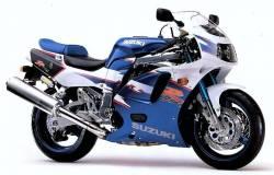 Suzuki gsxr 750wr sp special edition 1994 decals labels