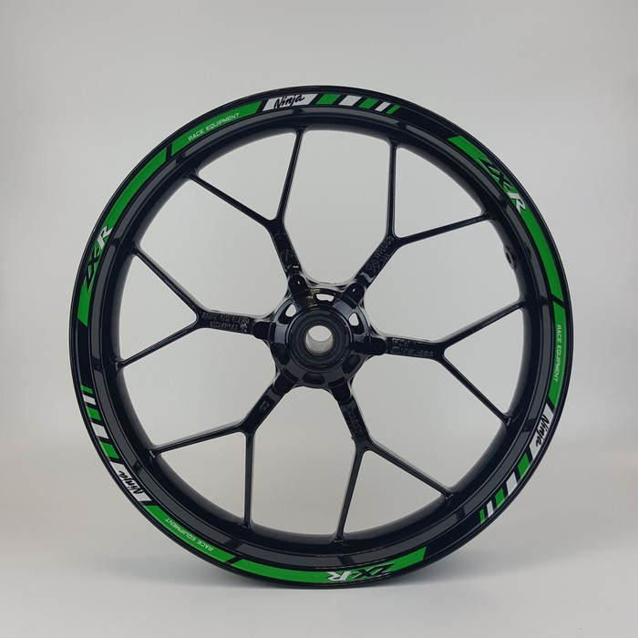 Kawasaki Zxr Green Wheels