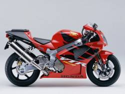 Honda VTR sp1 sc45 2001 2002 red reproduction stickers
