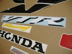 Honda vtr 1000 sp-1 rc51 sc45 2000 red stickers set