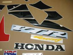Honda VTR sp1 rc51 sc45 2001 red graphics kit