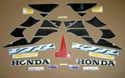 Honda VTR sp1 sc45 2001 2002 red reproduction decals