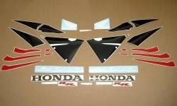 Honda cbr 600rr 2006 red stickers set