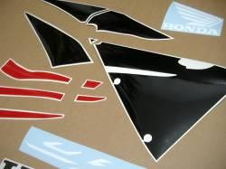 Honda cbr 600rr 2006 red decals set