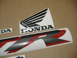 Honda VTR SC45 rc-51 2001 silver stickers set