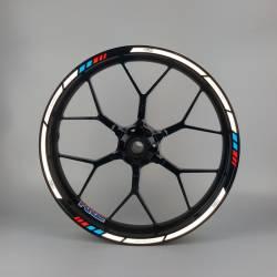 Honda cbr 125r 600rr 900rr 1000rr Fireblade wheel stripes